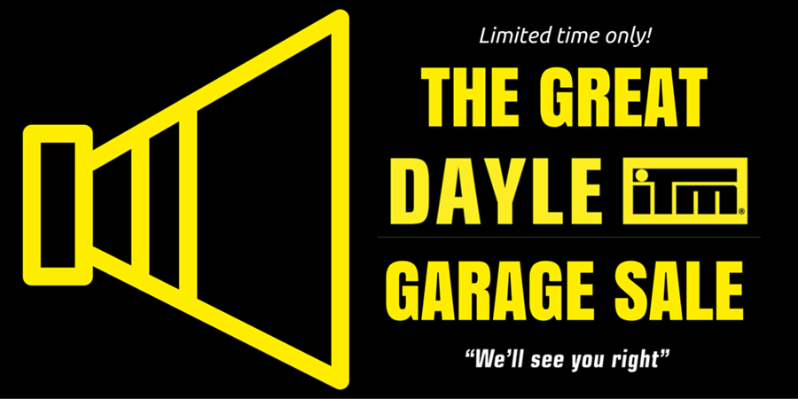 The Great Dayle ITM Garage Sale