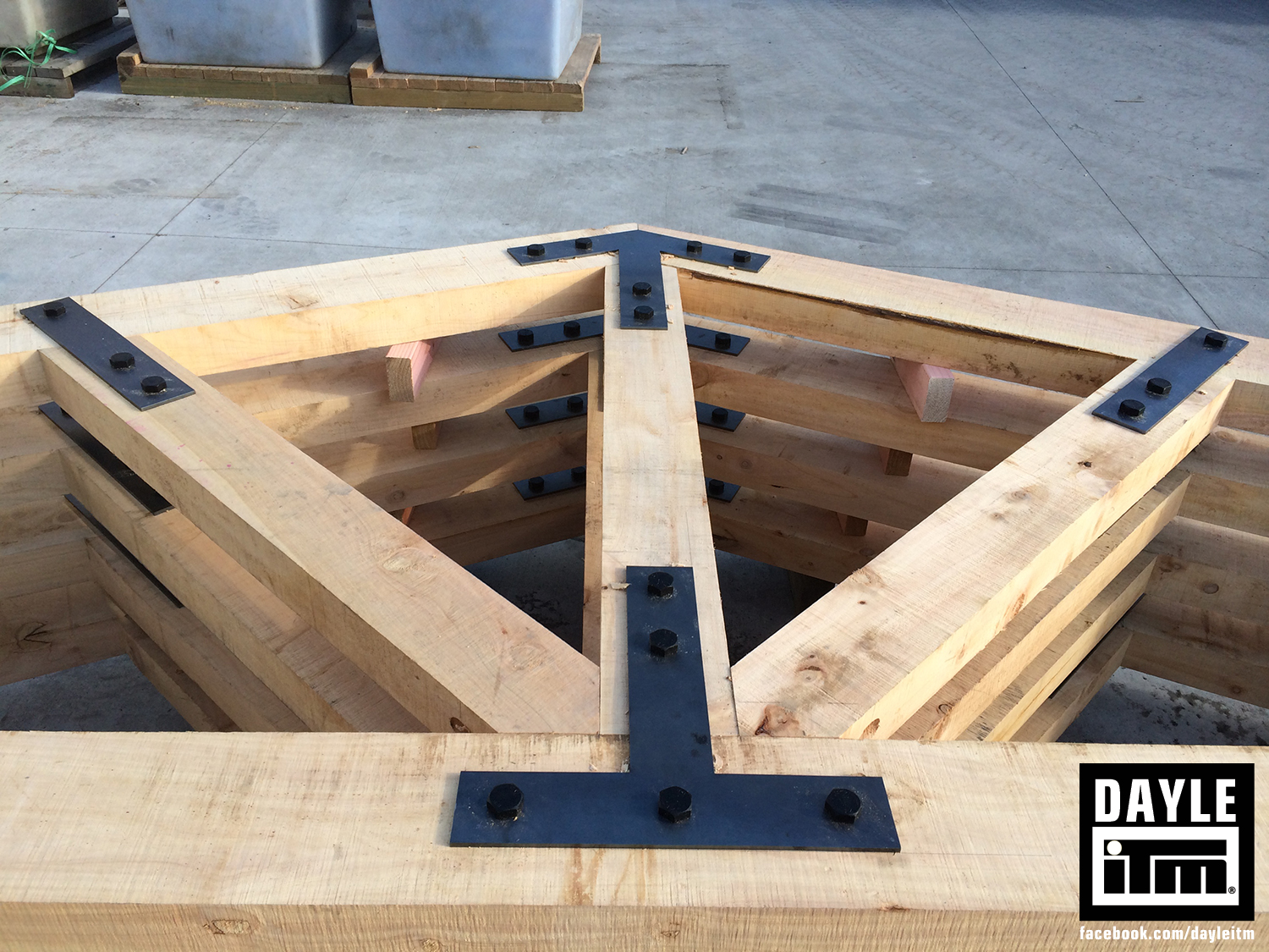 Exposed Trusses Dayle Itm Your Building Supplies